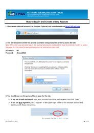 How to Log-in and Create a New Account