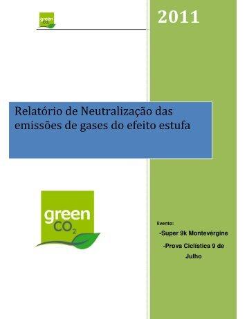 Relatório de Neutralização das emissões de gases do ... - Yescom