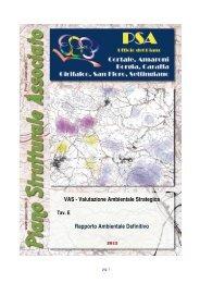 VAS - Valutazione Ambientale Strategica Rapporto ... - Psacortale.it