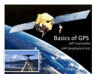 Basics of GPS -- how it works - Jeff Freymueller