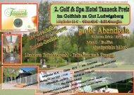 Mitglieder 35 € - Gäste 65 € - inkl. Greenfee - Golfclub Gut ...
