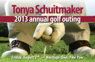 2013 annual golf outing - West Coast Chamber of Commerce