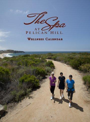 July Wellness Calendar - Pelican Hill