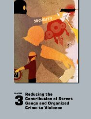 Reducing the Contribution of Street Gangs and Organized Crime to ...
