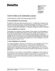 Controleverklaring 2011 - Staalbankiers