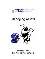 AM Guide (all topics) - Georgia Institute of Technology
