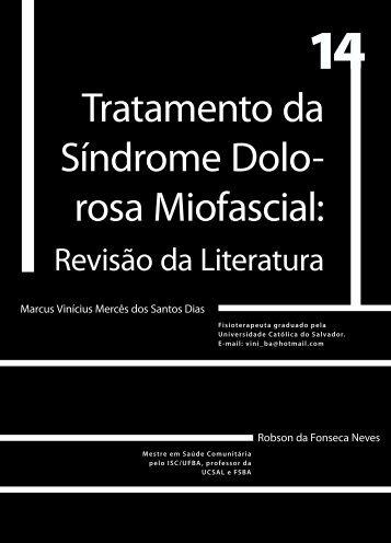 Tratamento da Síndrome Dolo- rosa Miofascial: - Faculdade Social