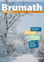 n° 64 de décembre - Brumath