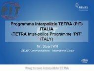 Italian Inter Police Project Stuart Will - Tetra