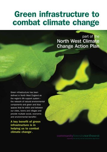 Green infrastructure to combat climate change