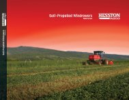 Self-Propelled Windrowers - AGCO Iron