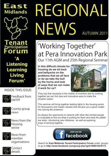 EMTPF - AUTUMN 2011.indd - Nottingham City Homes