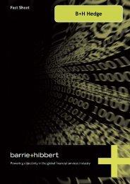 B+H Hedge - Barrie & Hibbert