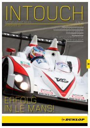 In Touch PDF - Dunlop Motorsport