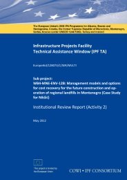 Infrastructure Projects Facility Technical Assistance Window (IPF TA ...