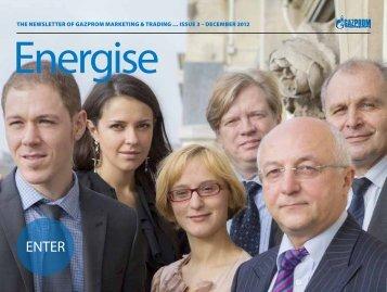 issue 3 – december 2012 - Gazprom Marketing & Trading