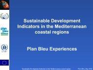 Sustainable Development Indicators in the Mediterranean ... - SIA