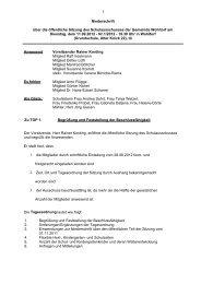 Protokoll der Sitzung vom 11.09.2012 - Gemeinde Wohltorf