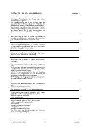 Checkliste Schriftführer/in