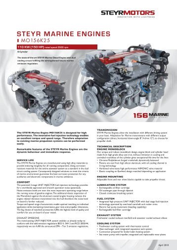 Toc general service manua for General motors marine engines