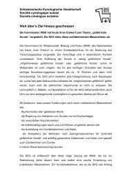 Stellungnahme der SKG zum Entwurf