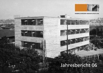 Jahresbericht 2006 als PDF - Innerschweizer Heimatschutz