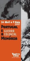 programa - João Garcia Miguel