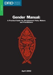 A Practical Guide for Development Policy Makers and Practitioners