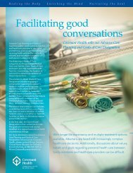 Facilitating good conversations - The Catholic Archdiocese of ...