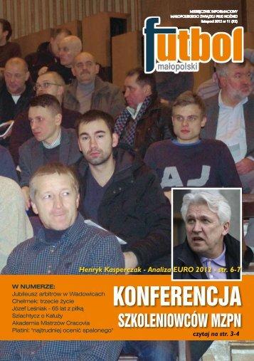 KONFERENCJA - Małopolski Związek Piłki Nożnej