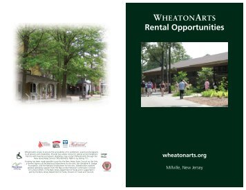 View and Print the Facilities Rental Booklet