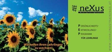 P.E.P. für Lehrlinge - neXus Seminare - Beratung, Coaching ...
