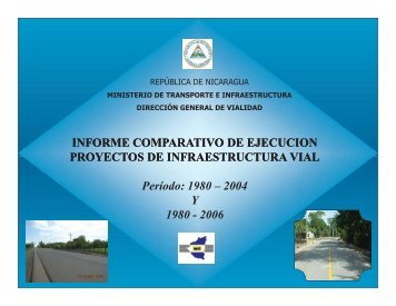 Proyectos rehabilitación carreteras