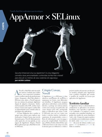 AppArmor × SELinux - Linux New Media