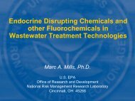 Endocrine Disrupting Chemicals and Other Emerging ... - NEIWPCC