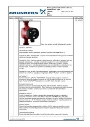 Grundfos – Čerpadla ALPHA2 - Marcomplet