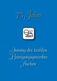 Festschrift 75 Jahre Innung Reinigungsgewerbe #5.indd