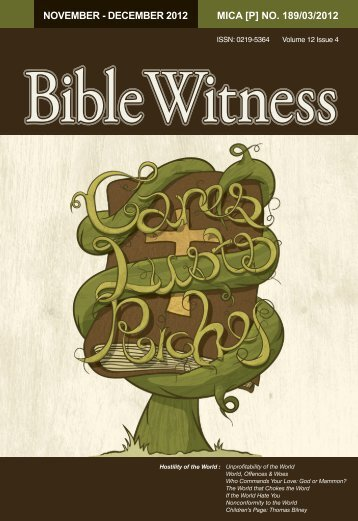 Hostility of the World - Bible Witness