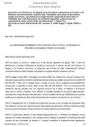 Accordo Governo-Regioni ai sensi dell'art. 40 ... - FederLab Italia