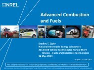 Advanced Combustion and Fuels - Department of Energy