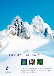 Excellence with Impact - Research Councils UK