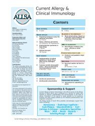 CMPA in children) - Malaysian Society of Allergy & Immunology