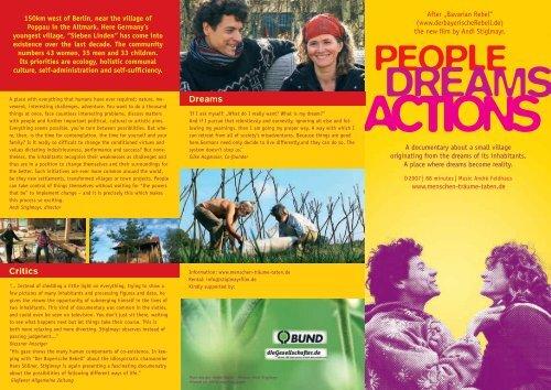 DREAMS - Menschen Träume Taten