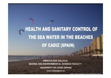 inmaculada vallejo marine and environmental science faculty ...