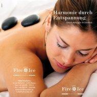 Massagen - Harmonie durch Enstpannung [pdf] - Hotel Fire & Ice ...