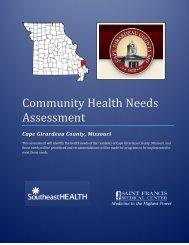 Community Health Needs Assessment - Southeast Hospital