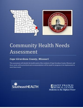 community health assessment Access documents for the 2016 partnership forum and the community health assessment.