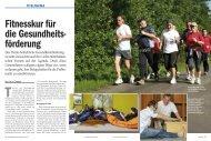 Fitnesskur für die Gesundheits- förderung - Firmenfitness ...
