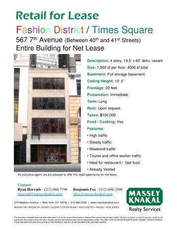 Fashion District / Times Square