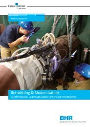 Retrofitting & Modernisation - Bhr - Bilfinger